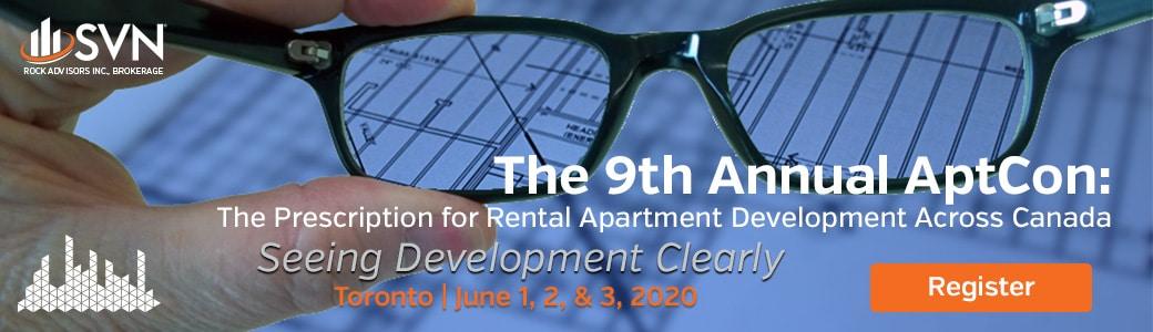 9th Annual AptCon: The Prescription for Rental Apartment Development Across Canada